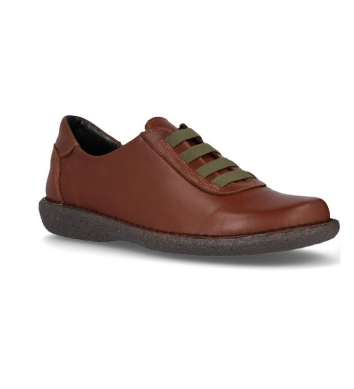 Women's flat leather outlet shoes 2