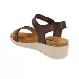 Wedge cork sandals 1