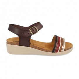 Wedge cork sandals