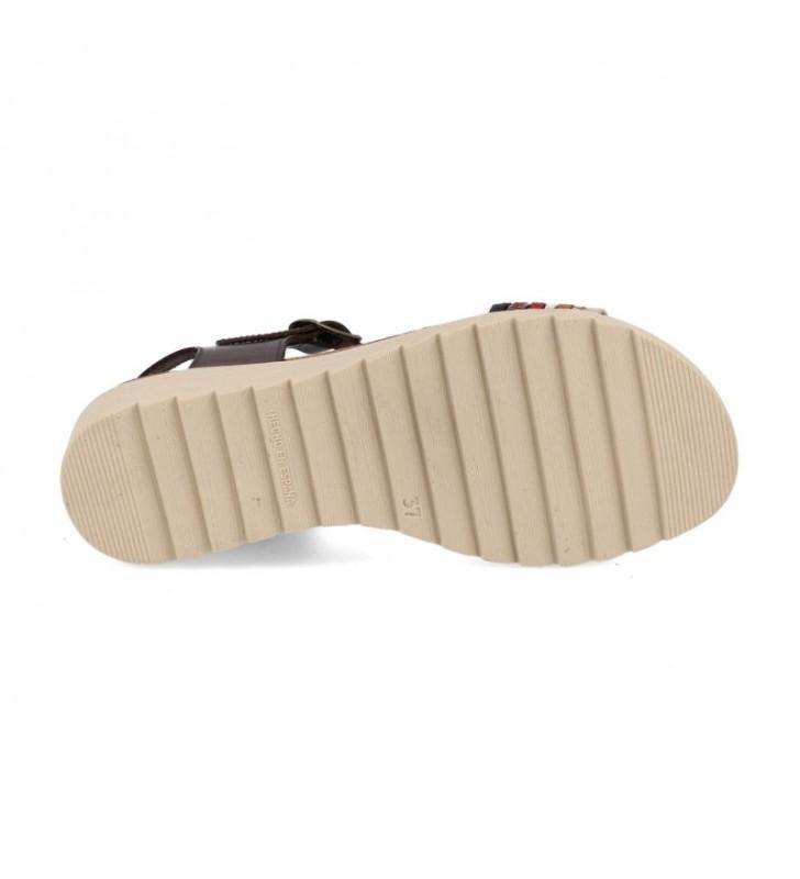 Sandalias corcho cuña 2