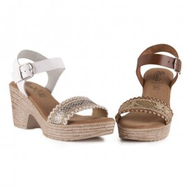 Fiordi comfort heeled sandals