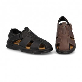 Men's sandal with velcro