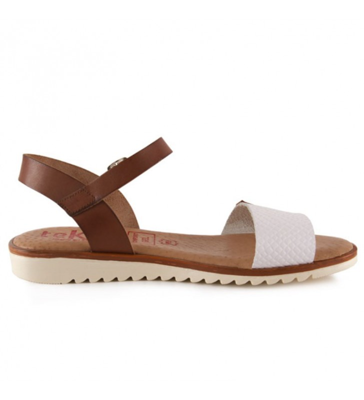 Gel plant flat sandals for women 1