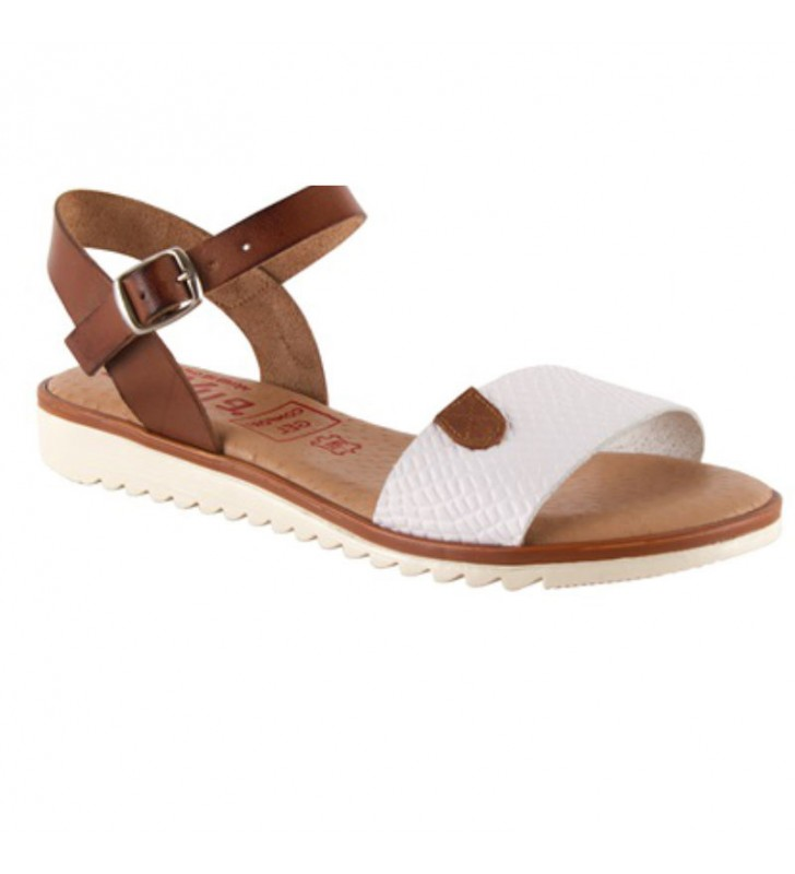 Gel plant flat sandals for women 2
