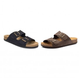 Bio leather men's sandals