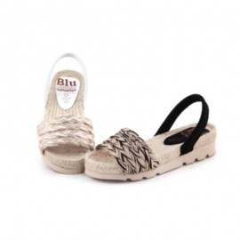 Jute avarcas sandals