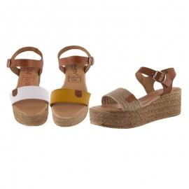 Sandalias mujer plataforma originales