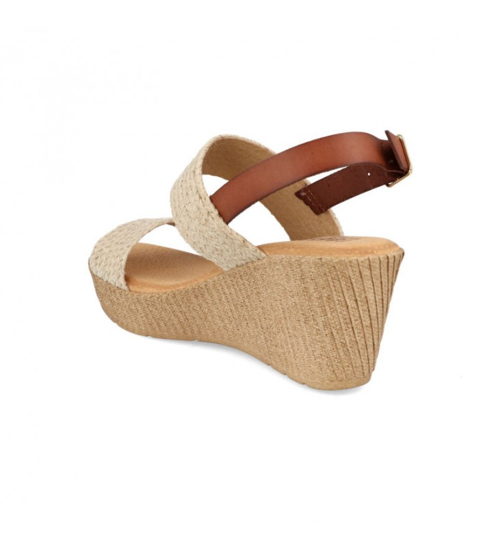 Jute platform and wedge sandals 2