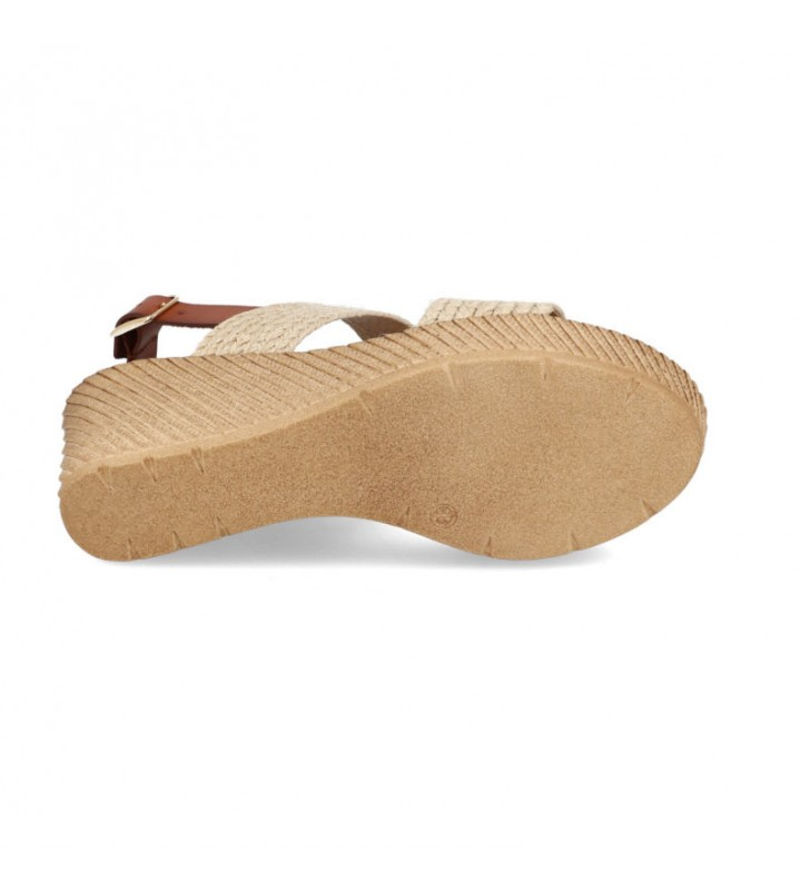 Jute platform and wedge sandals 3
