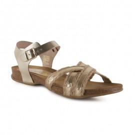 Bio platinum jute sandals