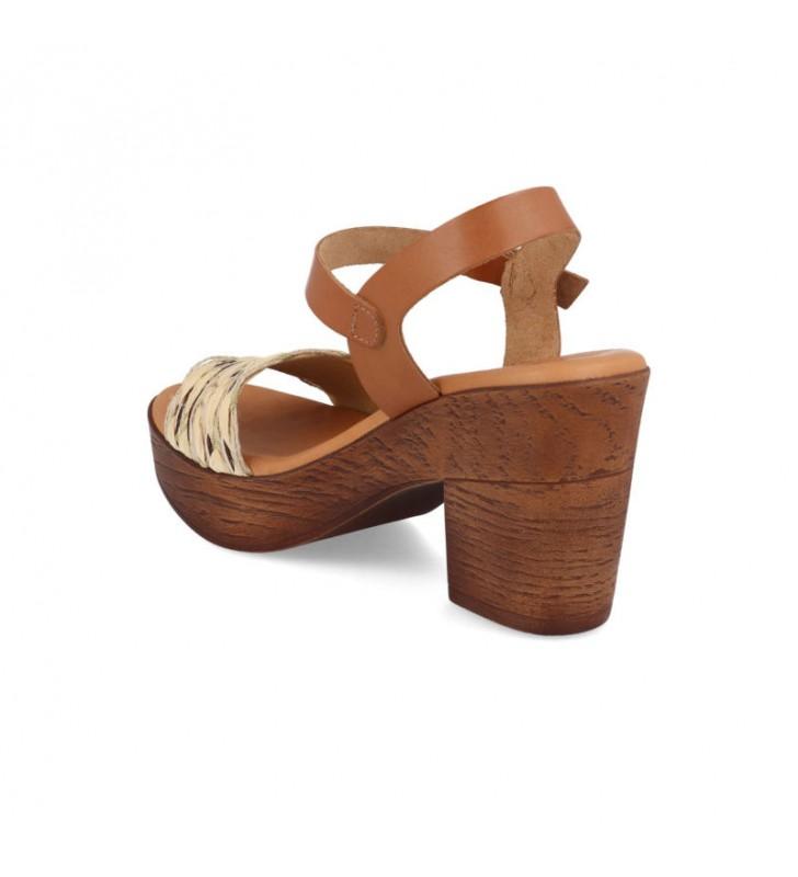 Comfort heel woman sandal 2