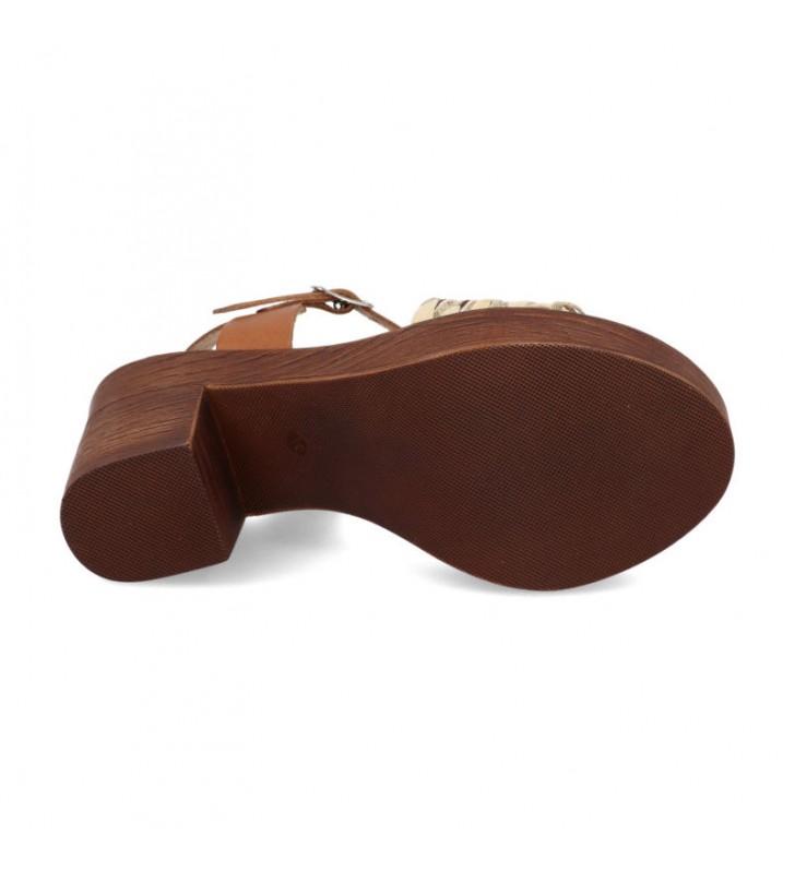 Comfort heel woman sandal 3