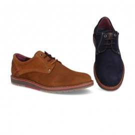 Men's suede leather shoes