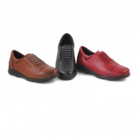 Women's comfort leather shoes