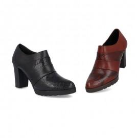 Zapatos tacón vestir piel