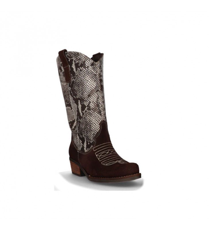 Women's Camperas Leather Boots