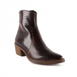 Women's cowboy ankle boots