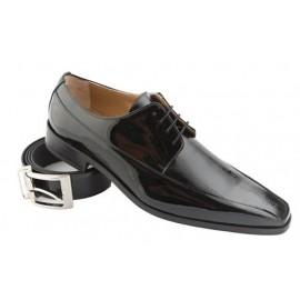 Zapato Charol  Piel Novio Ceremonia 1