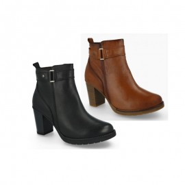 Original leather woman ankle boots