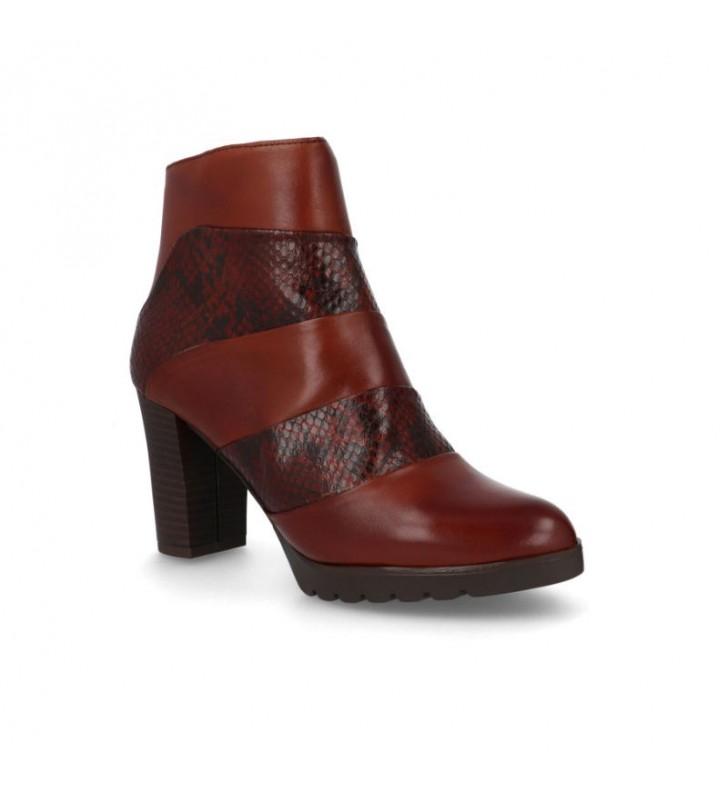 Elegant women's high heel ankle boots