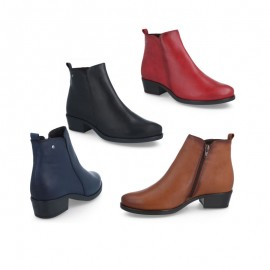 Comfortable Tupie ​​Heel Ankle Boot
