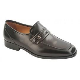 Zapato Piel Caballero Vestir Elastico 1