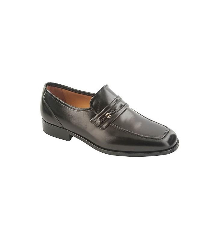 Zapato piel caballero ancho especial