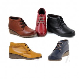 Comfortable Leather Ankle Boots Women