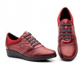 Zapatos mujer cómodos rojo