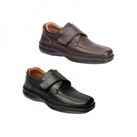 Zapatos hombre cómodos velcro