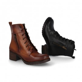 Women's casual leather boots