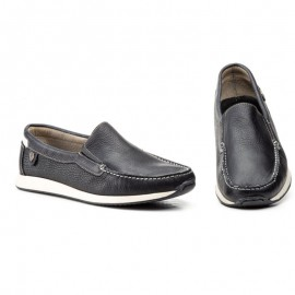 Moccasin Man Comfort Black