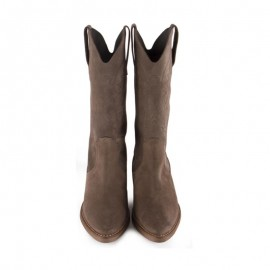 Cowboy Boots Woman Leather