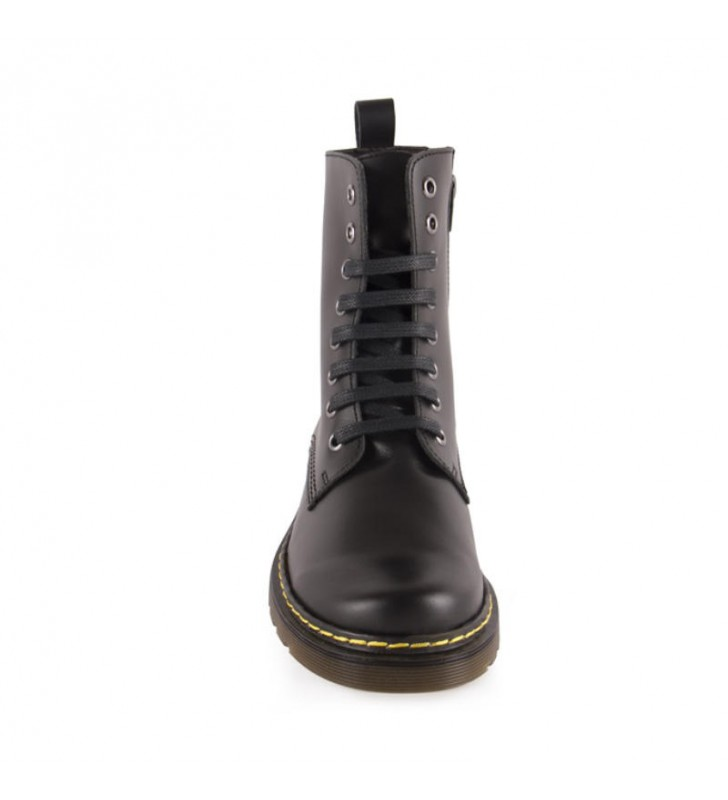 Casual Leather Girl Boots