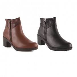 Comfortable Low Heel Ankle Boot