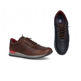 Zapatos casual piel
