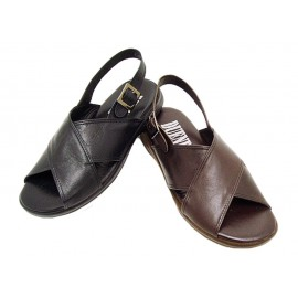 Leather Sandal Duendy 1