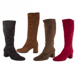 Heeled over-the-knee boots