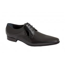 Zapatos Piel Charol Negro 1