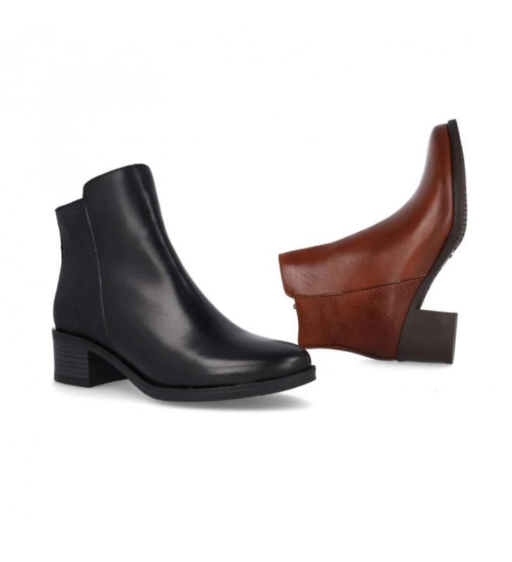 Women's comfort gel ankle boots