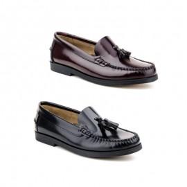 Zapatos Castellanos borlas mujer