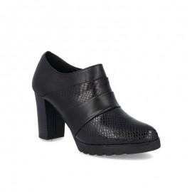 Zapatos tacón vestir piel outlet