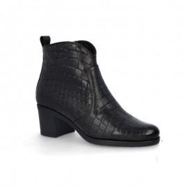 Women's elegant leather ankle boots outlet