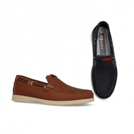 Man leather moccasins