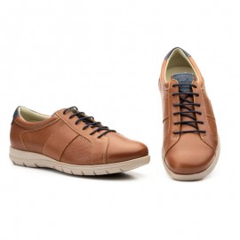 Zapatos hombre casual cuero