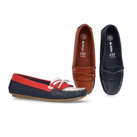 Women's comfort leather loafers