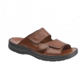 Sandalias hombre piel anchas