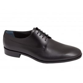 Zapatos Ceremonia Piel Negro 1