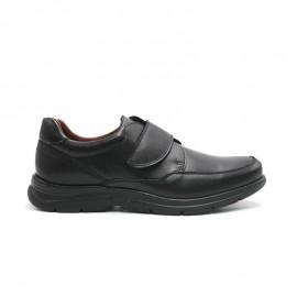 Wide velcro men's shoes