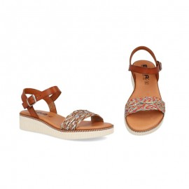 Comfort gel wedge sandal